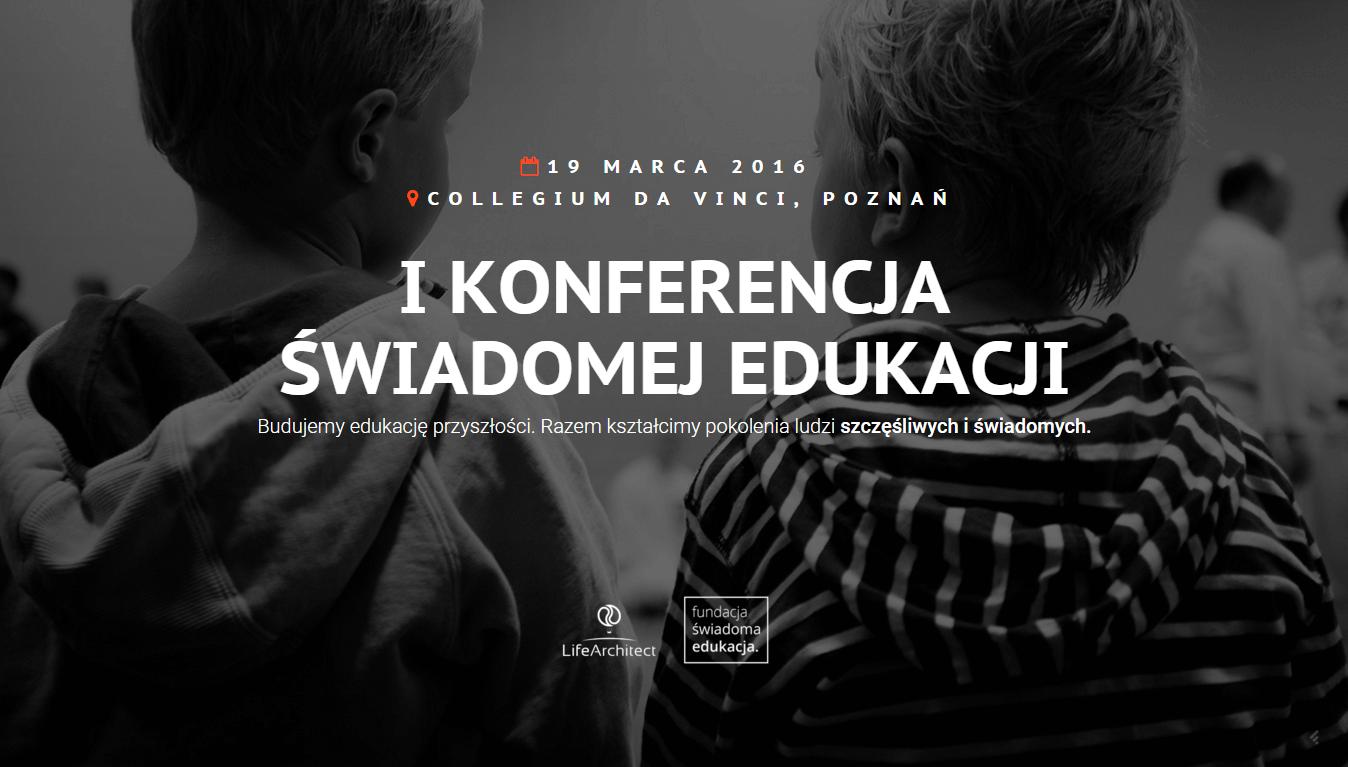 I Konferencja Świadomej Edukacji